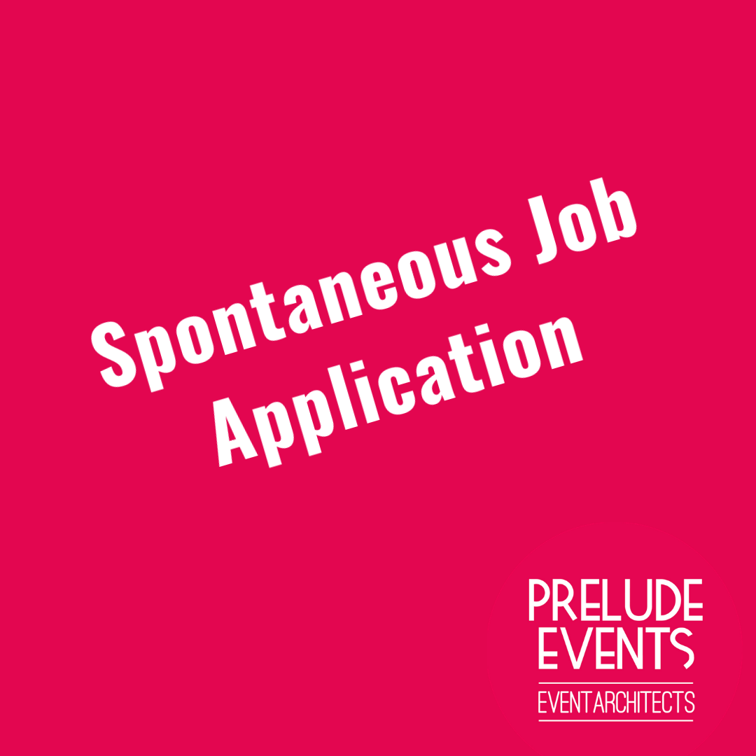 spontaneous job application